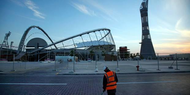 Le Qatar dévoile à Ryad la maquette d'un 3e stade pour le Mondial 2022 - La DH