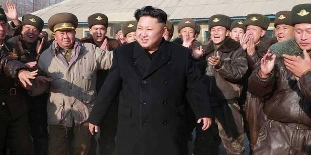 """Kim Jong-Un compare les Américains à des """"cannibales"""" - La DH"""