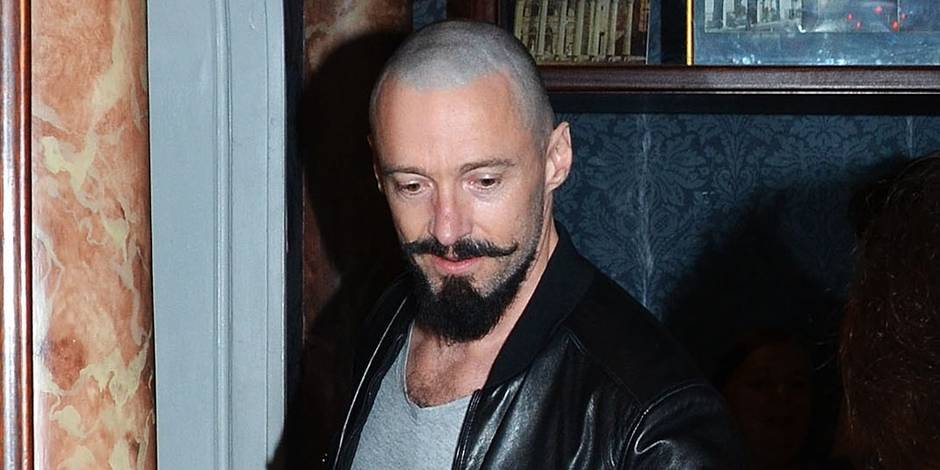 La transformation de hugh jackman en barbe noire la dh - Barbe homme noir ...