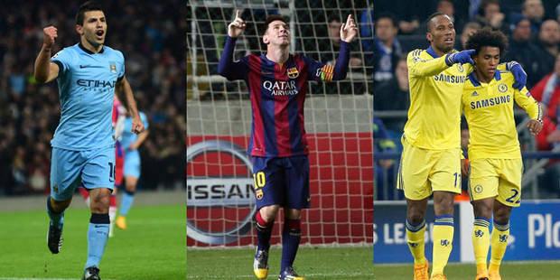 C1: Aguëro et Messi régalent, Chelsea humilie Schalke (0-5) - La DH