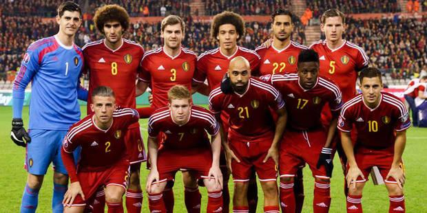 Les Diables rouges conservent leur 4e place au classement FIFA - La DH