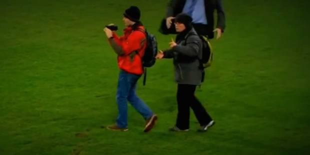 """Deux """"touristes"""" sur le terrain de Bâle-Real Madrid - La DH"""