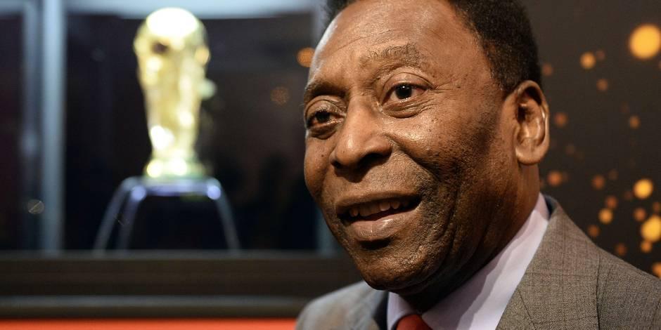 L'état de santé de Pelé empire