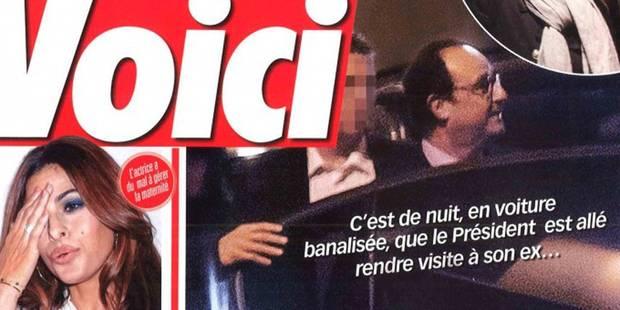 Hollande a revu Valérie Trierweiler en secret - La DH