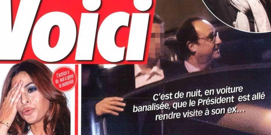Hollande a revu Valérie Trierweiler en secret