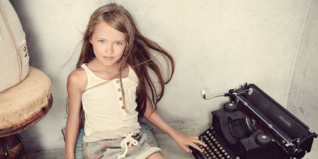 """A 9 ans, """"la plus belle petite fille au monde"""" fait polémique - La DH"""