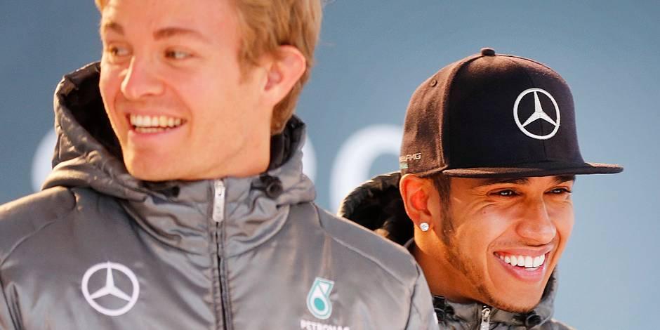 """Hamilton: """"Les tensions avec Rosberg? C'est fini"""""""