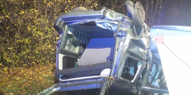 Buzet: un mort et quatre blessés sur l'A54 - La DH