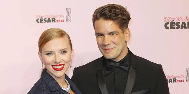 Scarlett Johansson a épousé Romain Dauriac - La DH
