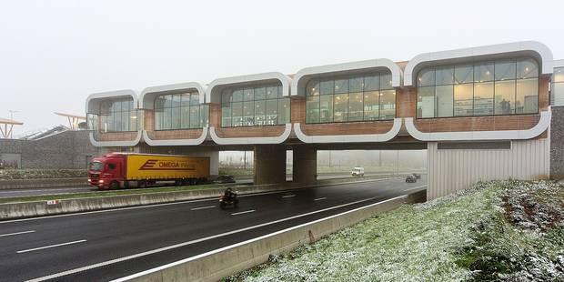 Voici l'aire d'autoroute du futur (PHOTOS) - La DH