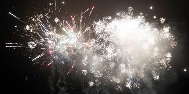 Un subside de 25.000 euros pour le feu d'artifice du Nouvel An - La DH
