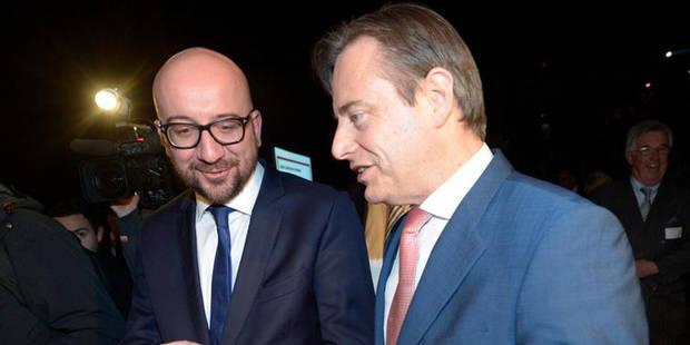 """BAROMETRE: Libéraux et N-VA paient la """"suédoise"""", le CDH et le FDF souffrent à Bruxelles - La DH"""