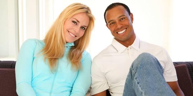 Tiger Woods félicite Lindsey Vonn et se moque de lui-même - La DH
