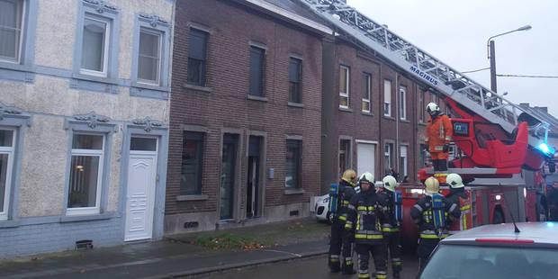 Important feu de cheminée à Heppignies - La DH