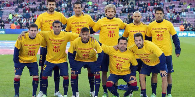 Liga: Messi imite Ronaldo, hommage émouvant des joueurs du Barça à Vermaelen - La DH