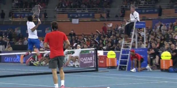 Monfils et Federer font le spectacle ! - La DH