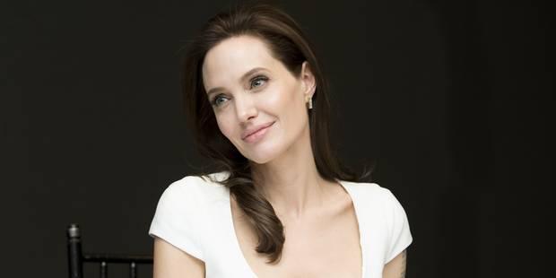 """Angelina Jolie:""""Mes enfants me réclament déjà des tatouages"""" - La DH"""