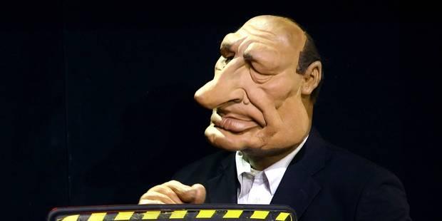 De la drogue dans la marionnette Jacques Chirac des Guignols - La DH