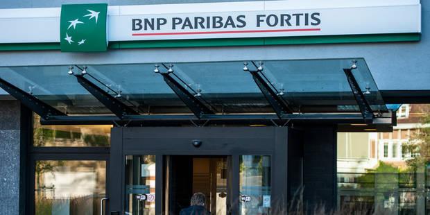 BNP Paribas Fortis et Fintro abaissent le taux des comptes d'�pargne ce vendredi