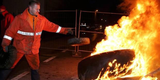 Grève nationale: les derniers piquets levés en soirée, satisfaction des syndicats - La DH