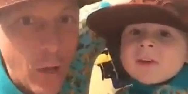 Le Dubsmash d'Elio, 4 ans, fait le buzz - La DH