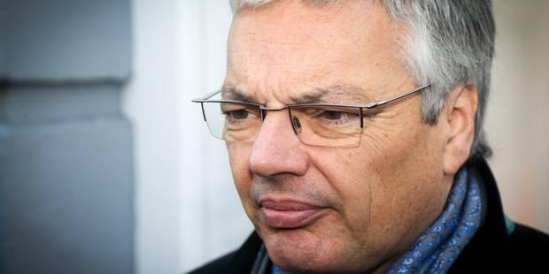 Didier Reynders suggère de remplacer certains avantages en nature par du net - La DH