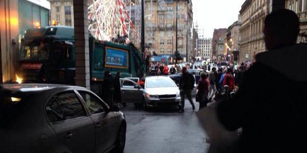 Un camion fonce sur des piétons dans le centre de Glasgow, 6 morts et des blessés graves - La DH