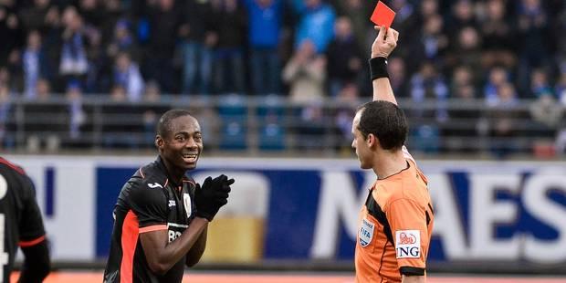 Cinq matches de suspension pour Enoh: Le Standard accepte la sanction - La DH