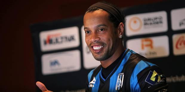 Ronaldinho est menacé d'exclusion par son club car... il n'est toujours pas revenu de vacances - La DH