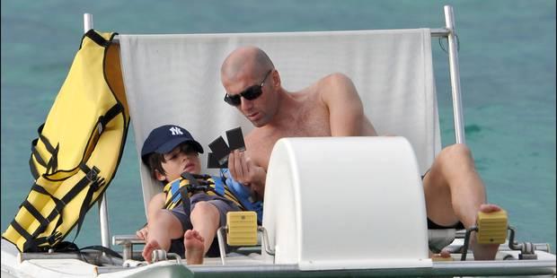 Après Enzo et Luca, voici Theo Zidane - La DH