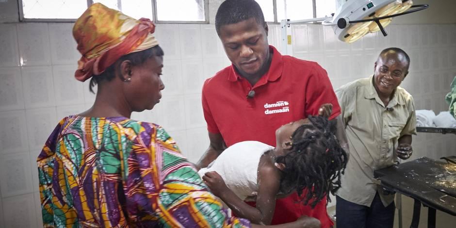 Le beau geste de Chancel Mbemba (Photos) - La DH