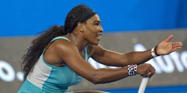 Un espresso en plein match pour Serena Williams ! - La DH