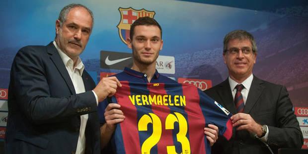 """Vermaelen, le joueur qui a """"tué"""" le directeur sportif du Barça - La DH"""