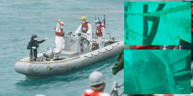 AirAsia: de premières images de l'épave sous l'eau (Photos) - La DH