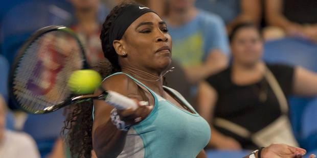 """Serena Williams: """"Je ne suis pas prête à mettre fin à ma carrière"""" - La DH"""