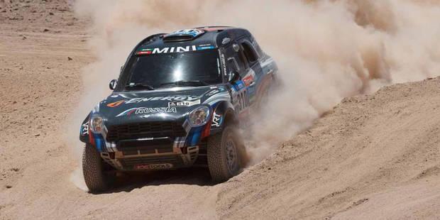 Dakar 2015: nouveau succès Mini grâce à Vasilyev, un Belge 3e du général - La DH