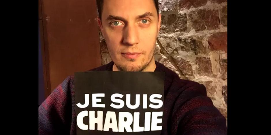 L'hommage de Grand Corps Malade à Charlie Hebdo
