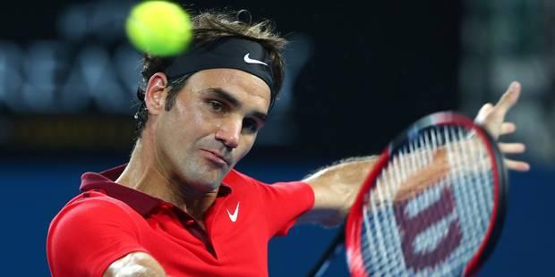 Brisbane: Federer enlève son 83ème titre et gagne son 1000ème match - La DH