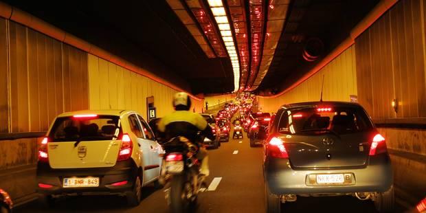 Chaos ce matin dans les tunnels bruxellois - La DH