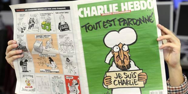 Charlie Hebdo sera disponible en 30.000 exemplaires en Belgique - La DH