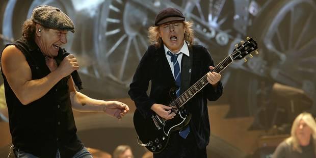 AC/DC en concert en Belgique le 6 juillet - La DH