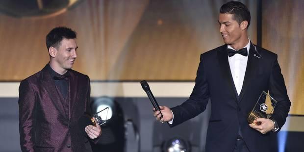 Le fils de Cristiano Ronaldo fan de... Lionel Messi - La DH