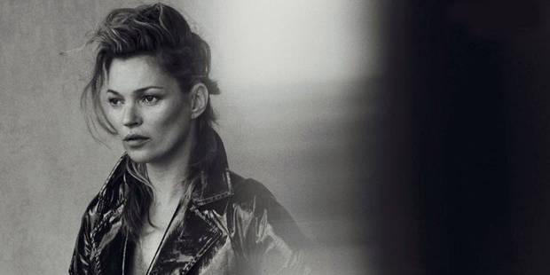 Kate Moss superbe sans Photoshop pour Vogue - La DH