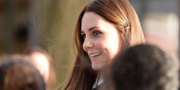 Kate Middleton, icône de mode pour femmes enceintes - La DH