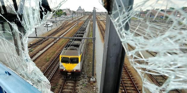 + 18 % de vandalisme dans les trains - La DH