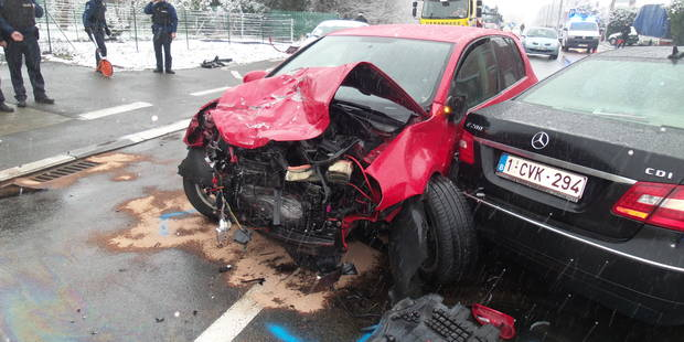 Biercée: 3 blessés lors d'une collision frontale - La DH