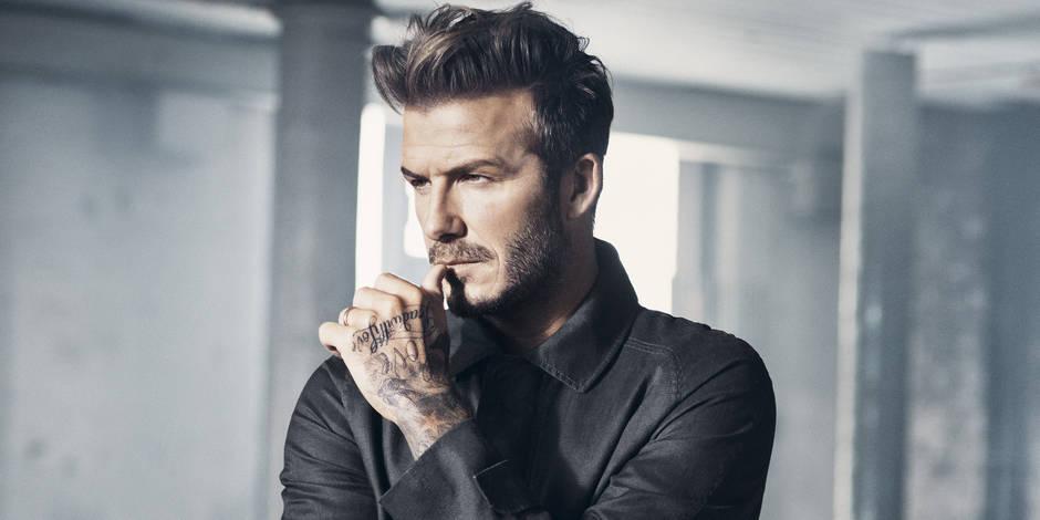 Mais à quoi songe le sexy David Beckham ?