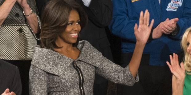 Quand Michelle Obama « chipe » la tenue d'une héroïne de série - La DH