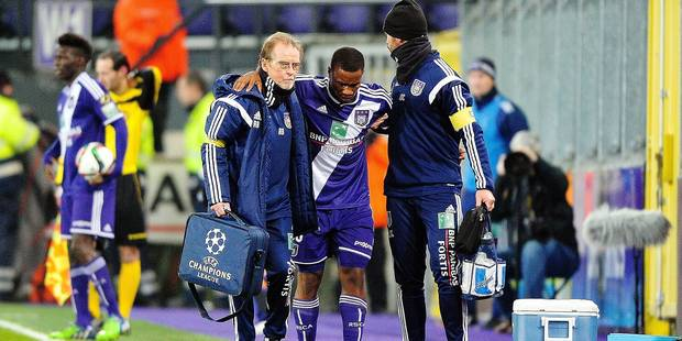 Blessure grave pour Andy Kawaya ?