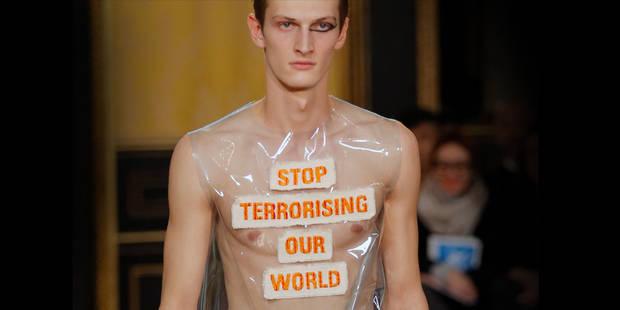 La mode hommes à Paris entre vigilance et messages choc - La DH